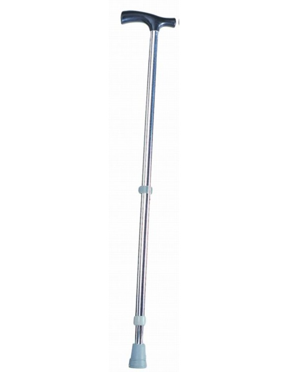 Baston din alumniu argintiu PAAO0104 Bastoane ortopedice