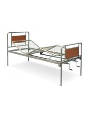 Pat medical mecanic cu 2 manivele cu cadru metalic PAAO1206 Paturi medicale mecanice