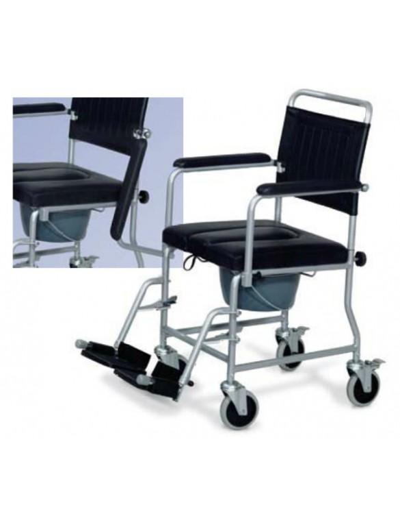 Scaun toaletă cu roți PAAO0703 Fotolii rulante manuale
